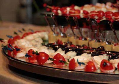 Buffet evento aziendale di aurora catering