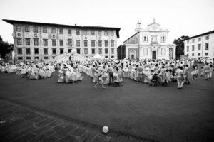 Evento cena in bianco Pisa
